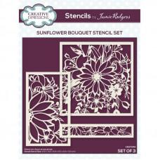 Jamie Rodgers - Sunflower Bouquet Stencil Set