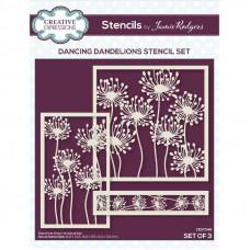 Jamie Rodgers - Dancing Dandelions Stencil Set
