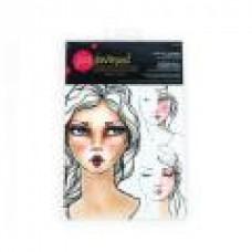 Spellbinders Jane Davenport  I Came, I Saw, I Contoured Face Charts