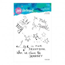 Jane Davenport by Spellbinders - Life Sparkle Clear Stamp Set