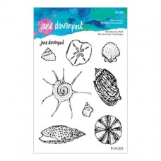 Jane Davenport by Spellbinders - She Sells Seashells Clear Stamp Set