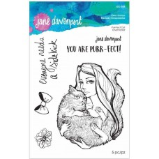 Jane Davenport by Spellbinders - Purr-fect Cat Clear Stamp Set