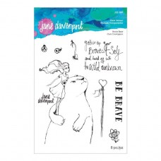 Jane Davenport by Spellbinders - Brave Bear Clear Stamp Set