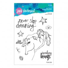 Jane Davenport by Spellbinders - Horse Hug Clear Stamp Set