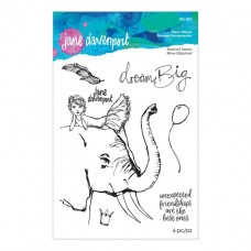 Jane Davenport by Spellbinders - Elephant Dream Clear Stamp Set