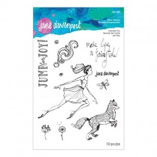 Jane Davenport by Spellbinders - Fairytale Fox Clear Stamp Set