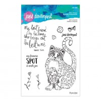 Spellbinders - Best Leopard Clear Stamp Set