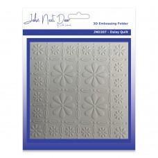John Next Door 3D Embossing Folders - Daisy Quilt