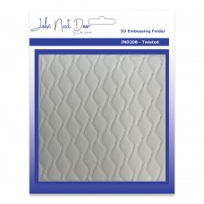 John Next Door 3D Embossing Folders - Twisted - SOLD OUT