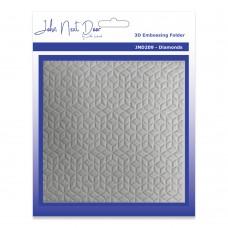 John Next Door 3D Embossing Folders - Diamonds