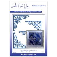 John Next Door Christmas Collection - Snowflake Corners