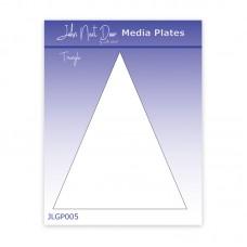 John Next Door Media Plate - Triangle
