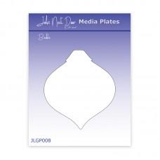 John Next Door Media Plate - Bauble