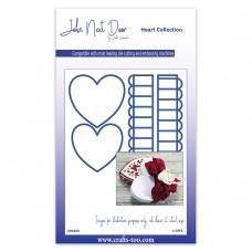 John Next Door Heart Die Collection - Heart Box