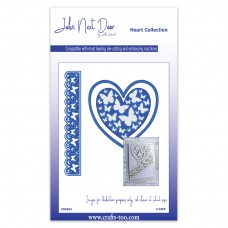 John Next Door Heart Die Collection - Butterfly Heart - DISPATCHING FRIDAY 27th NOVEMBER