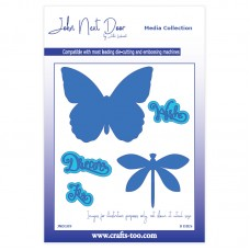 John Next Door - Media Collection - Butterfly & Dragonfly