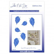John Next Door - Additions Dies - Foil Rose Leaves
