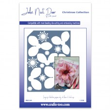 John Next Door - Christmas Dies - Christmas Rose Die Plate