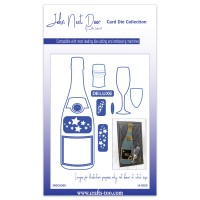 John Next Door Card Die Collection - Champagne Bottle