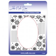 John Next Door - Cut and Emboss Folders - Snowflake Swirl