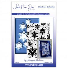 John Next Door - Christmas Collection - Snowfall Stamp & Die