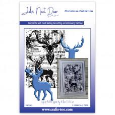 John Next Door - Christmas Collection - Deerland Stamp & Die