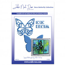 John Next Door - Deco Butterfly Collection - Large Deco Butterfly
