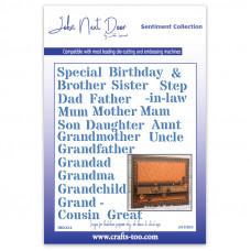 John Next Door - Sentiment Collection - Stencil Family