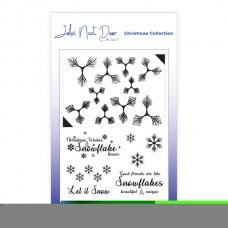 John Next Door - Christmas Clear Stamp - Snowflower