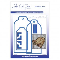 John Next Door - Additions Dies - Luggage Tags