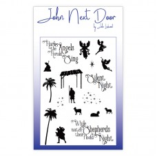 John Next Door Clear Stamp - While Shepherds