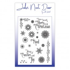 John Next Door - Clear Stamp - Snowflakes