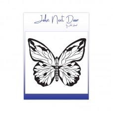 John Next Door - Clear Stamp - Bold Butterfly