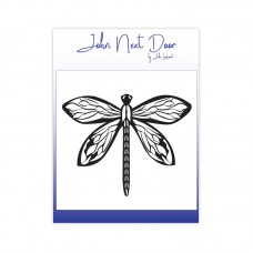 John Next Door - Clear Stamp - Bold Dragonfly