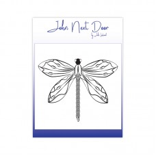John Next Door - Clear Stamp - Delicate Dragonfly