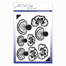 John Next Door - Clear Stamp - Pansy