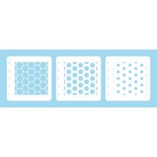 Nellie Snellen - Layered Combi Stencil Set - Honeycomb