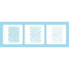 Nellie Snellen - Layered Combi Stencil Set - Sunburst