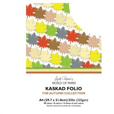 Kaskad - Autumn Collection - A4 Coloured Core