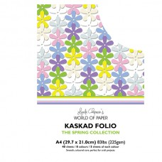 Kaskad - Spring Collection - A4 Coloured Core