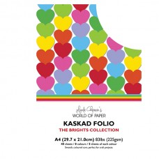 Kaskad - Brights Collection - A4 Coloured Core