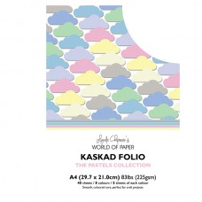Kaskad - Pastels Collection - A4 Coloured Core
