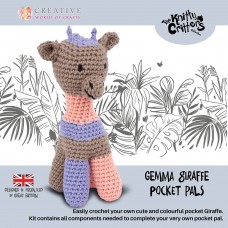 Knitty Critters Pocket Pals - Gemma Giraffe Crochet Kit