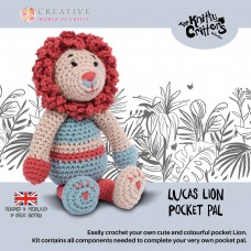 Knitty Critters Pocket Pals - Lucas Lion Crochet Kit