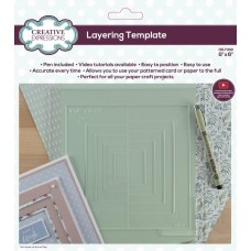 Layering Template 6 x 6 inches