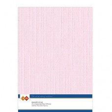 Linen A4 Card - Light Pink