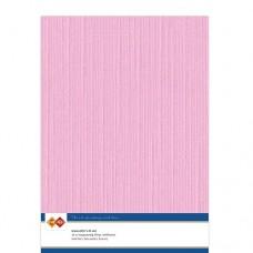 Linen A4 Card - Pink