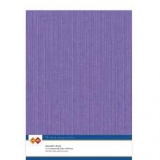 Linen A4 Card - Violet