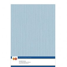 Linen A4 Card - Soft Blue