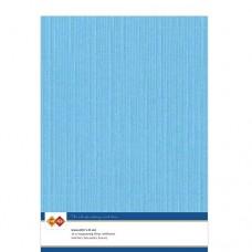 Linen A4 Card - Sky Blue